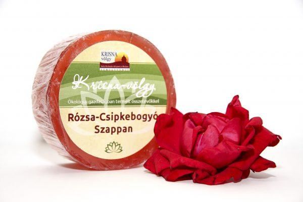 Rózsa-Csipkebogyó szappan