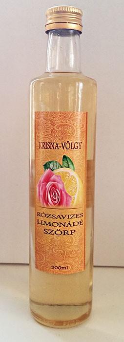 Rózsavizes limonádé szörp