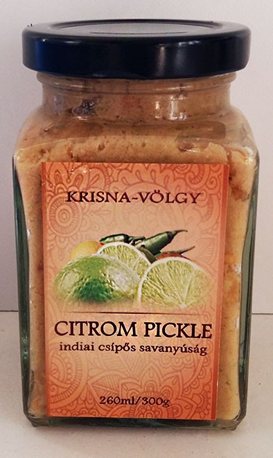 Bio-Citrom pickle