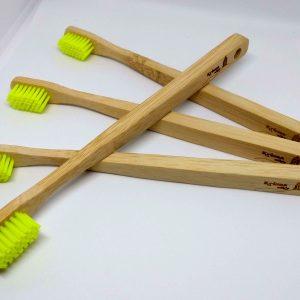 Bambusz fogkefe családi
