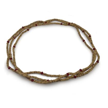 Tulasi nyaklánc – arany gyöngy